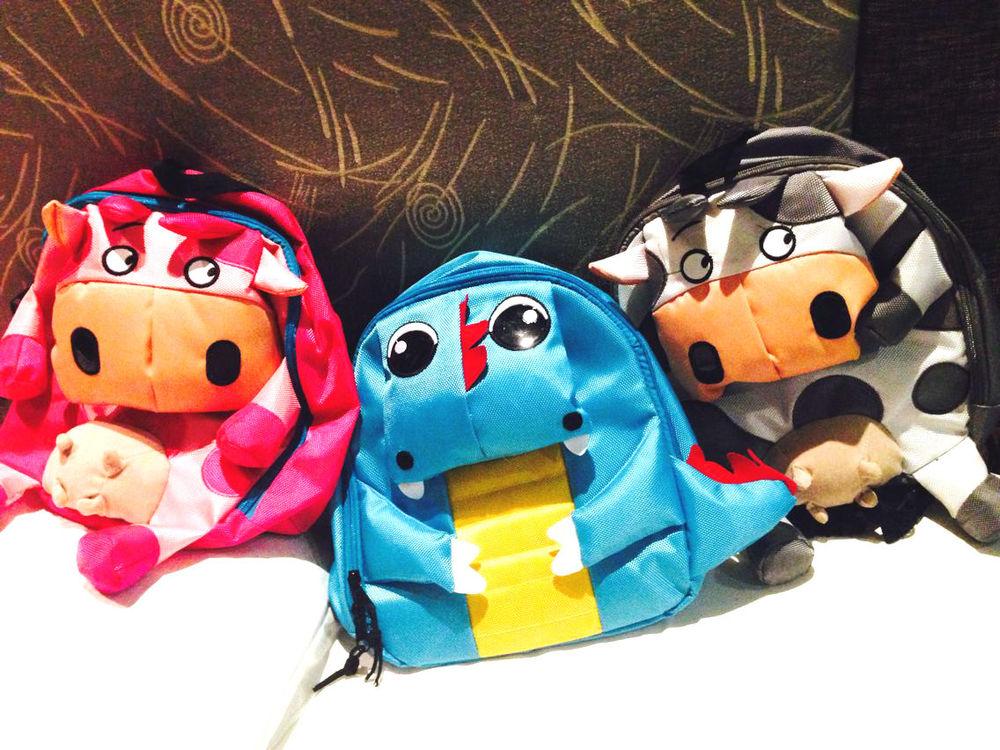 2014 New Baby Toddler Kid Child Cartoon Animal Backpack Schoolbag Shoulder Bag | eBay