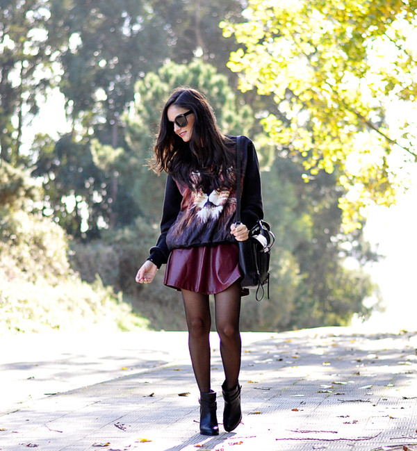 petit and sweet couture sweater bag shoes sunglasses