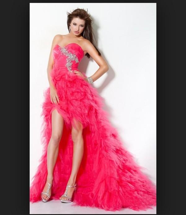 dress feather dress