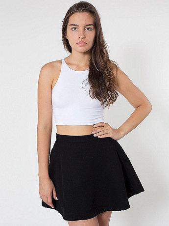 Natural Denim Circle Skirt | American Apparel