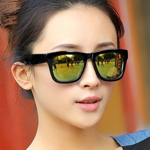 Atmospheric field stylish trendsetter for men and women all black super sunglasses sunglasses - DualShine