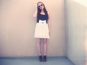 slanelle black skirt white skirt skirt