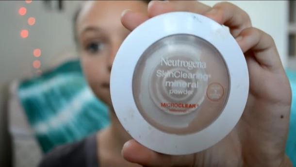 make-up skin clearing powder
