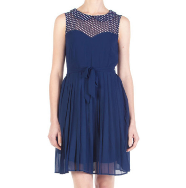 dress dangerfield susannahsunraydress peterpancollar navy