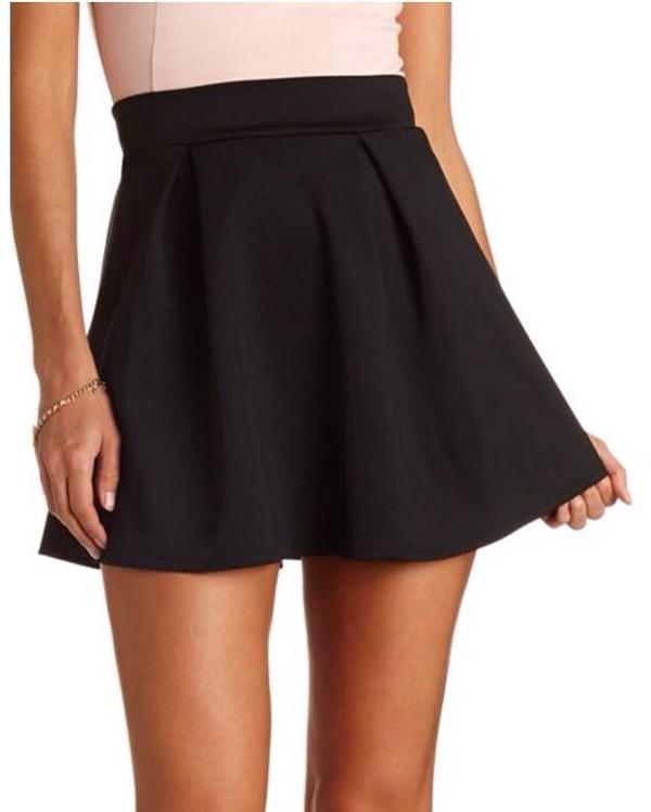skirt cute black