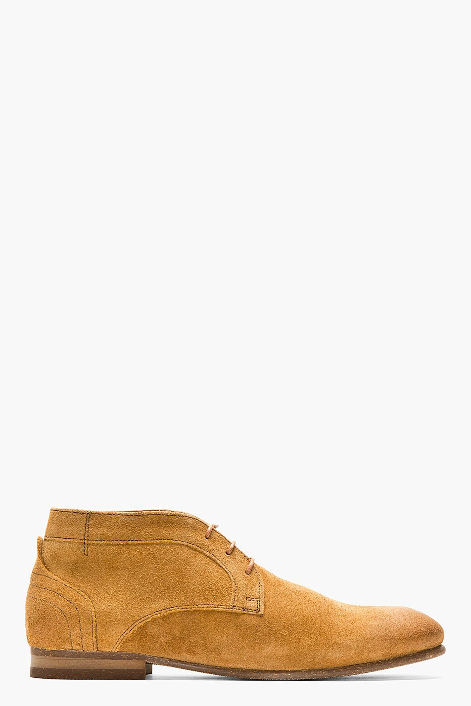 h by hudson brown suede thursom boots