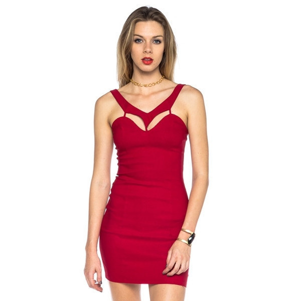 dress heat up red vanityv anity row dress to kill chic style trendy mini party