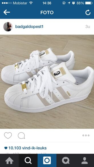 shoes adidas superstars home accessory low top sneakers white gold sneakers adidas adidas originals pharrell williams superstar gold beige adidas supercolor tumblr tumblr outfit tumblr clothes adidas shoes white shoes gold shoes adidas supercolor yellow sneakers cute aw2015 fall outfits style trendy fall trend grey tan addias shoes