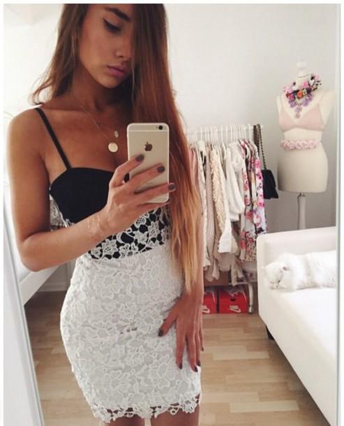 dress girly dress girly black dress white dress floral dress