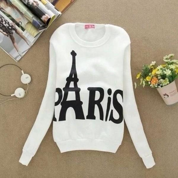 sweater paris long sleeves