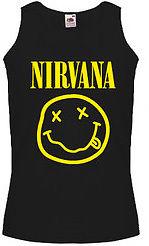 Nirvana Smiley Face Logo Tank Top Vest   eBay
