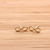 girlsluv.it - simple INFINITY stud earrings, 3 colors