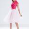 City ballerina tulle skirt black champagne white blush red mint - gojane.com