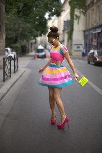 RARE candy stripe cutout dress. Sizes 6,8,10,14,16. (YURY15)   eBay