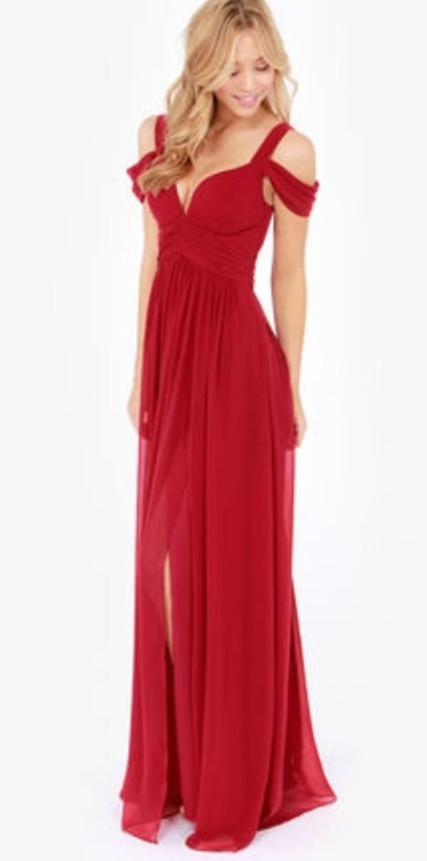 dress red prom red dress prom dress off the shoulder natural waist long prom dress plunge v neck prom dress red prom dress long red dress
