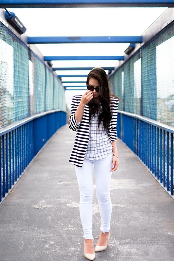 the fancy pants report jacket jeans shoes sunglasses