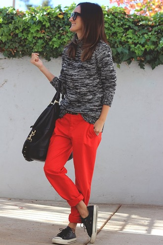 frankie hearts fashion sweater pants shoes bag
