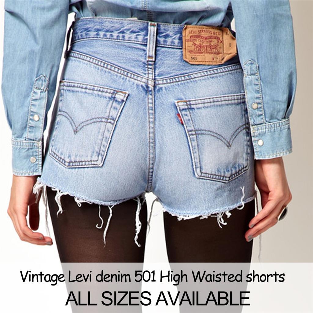 Levi'S Womens Shorts Denim - The Else