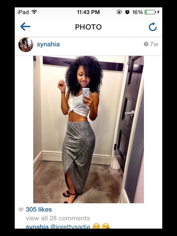 skirt grey maxi skirt pretty cute fashion blogger
