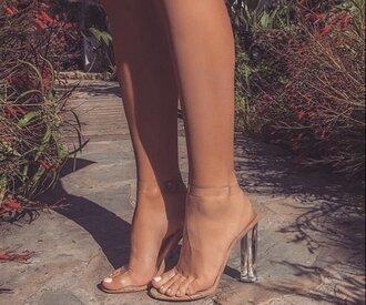 shoes high heels heels high heel sandals heels color pumps wedges sexy sexy hot classy nude peach pink light pink comfy strappy heels thick heel