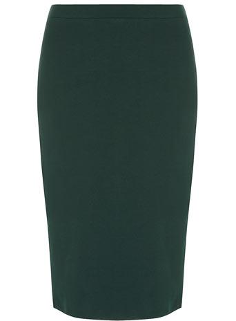 Green ponte pencil skirt - Dorothy Perkins