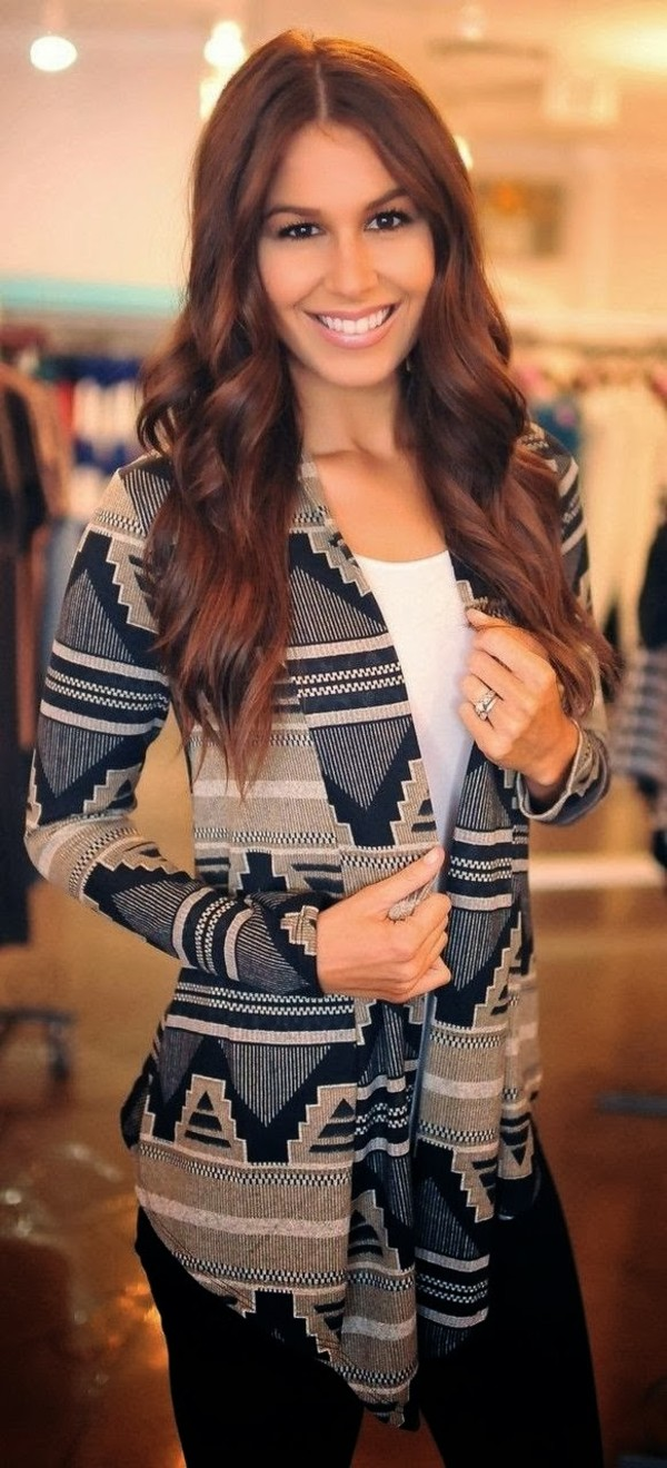 sweater aztec sweater cardigan aztec