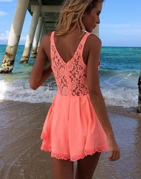 Aliexpress.com : Buy Free shiping 2014 Fashion lace backless playsuits from Reliable playsuit women suppliers on ED FASHION