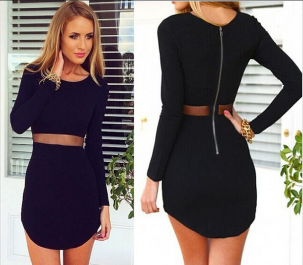 dress black black dress little black dress bodycon dress bodycon mesh mesh dress black bodycon black bodycon dress jewels