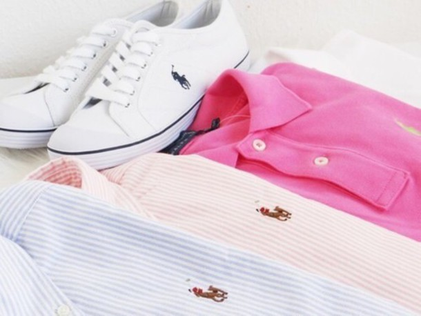 shoes white sneakers ralph lauren polo shirt sneakers