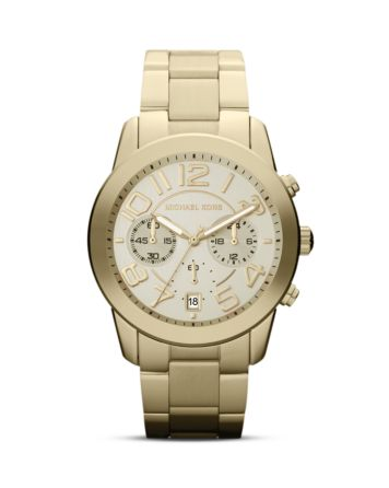 Michael Kors Mercer Watch, 41.5mm | Bloomingdale's