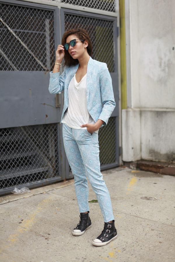 trop rouge jacket top pants shoes sunglasses