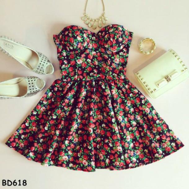 dress style shoes jewels bag
