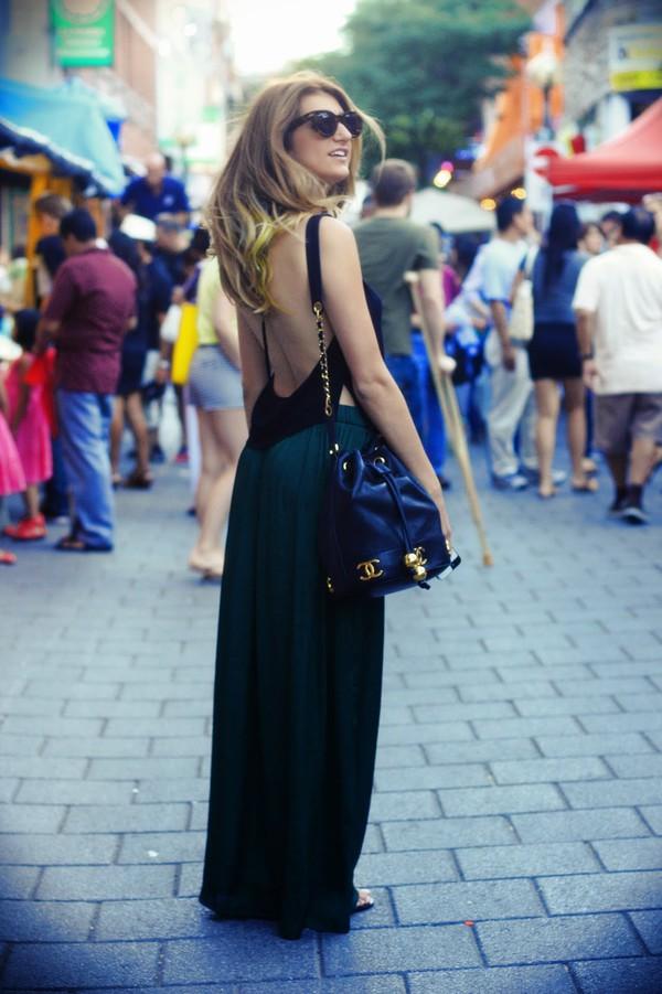 the boho flow top skirt shoes bag sunglasses jewels