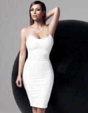 Kardashian Bodycon Midi Dress - Lipsy