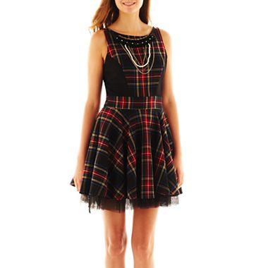 Olsenboye® Plaid Dress - JCPenney