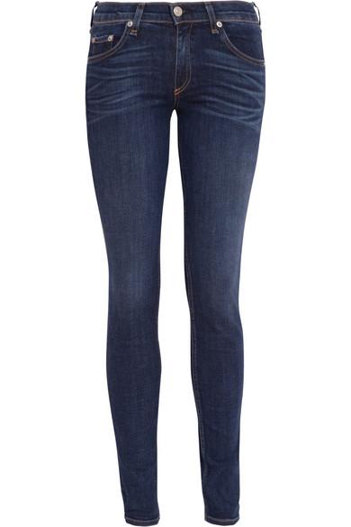 Rag & bone|Mid-rise skinny jeans|NET-A-PORTER.COM