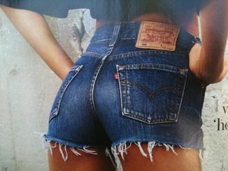 shorts denim vintage levis edgy