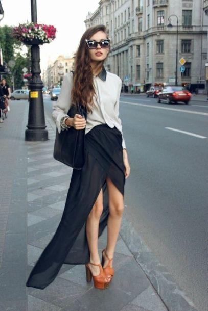 skirt streetwear summer outfits black dress