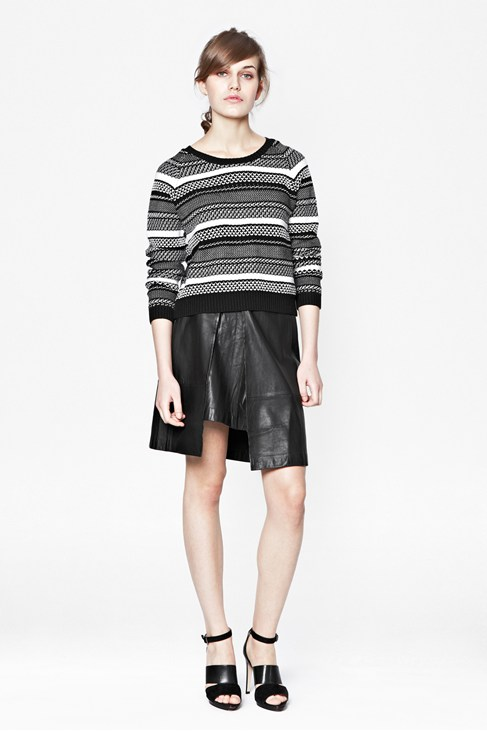 Nevada Leather Skirt - Collections - French Connection Usa