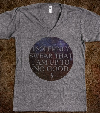 I Solemnly Swear - MADHAWT - Skreened T-shirts, Organic Shirts, Hoodies, Kids Tees, Baby One-Pieces and Tote Bags Custom T-Shirts, Organic Shirts, Hoodies, Novelty Gifts, Kids Apparel, Baby One-Pieces | Skreened - Ethical Custom Apparel