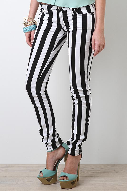 Striking Stripe Pants