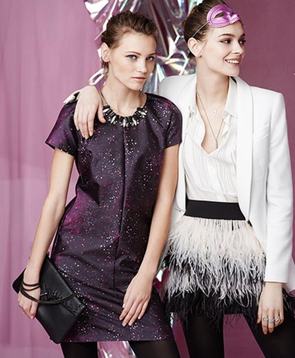 skirt lookbook fashion club monaco dress