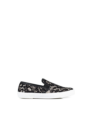 Slip In Shoe - Nly Shoes - Sort / Hvid - Hverdagssko - Sko - Kvinde - Nelly.com