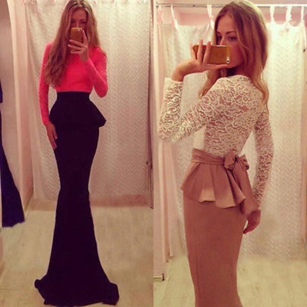 dress maxi dress gown formal bridesmaid www.ebonylace.net ebonylacefashion