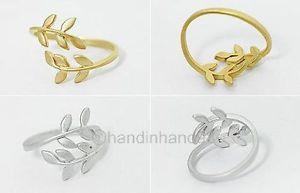 Free Postage Love Tree Branch Leaves Fashion jewellry Rings | eBay