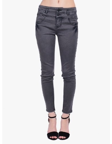 Charcoal Dark Times Skinny Jeans  | $10 | Cheap Trendy Jeans Chic Discount Fashion for Women | ModDe