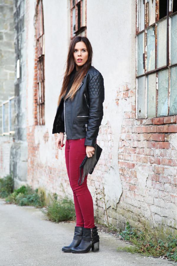 irene's closet bag jeans sweater jacket shoes