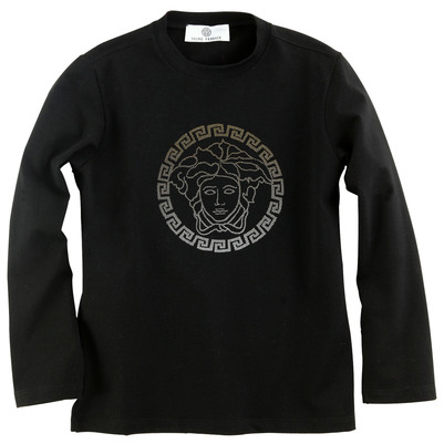 Young Versace T-shirt Nero - 24933 | Melijoe.com