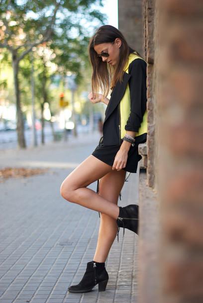fashion vibe jacket shoes pants bag belt