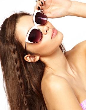 ASOS | ASOS Ridge Cat Eye Sunglasses at ASOS